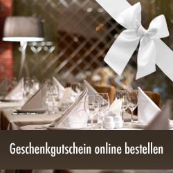 Geschenkidee Restaurantgutschein